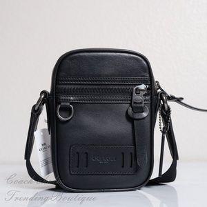 NWT Coach Men's Terrain Leather Crossbody Bag